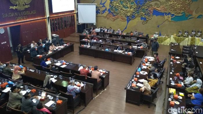 Rapat Dengar Pendapat Umum Prolegnas 2020-2024 (Azizah/detikcom)