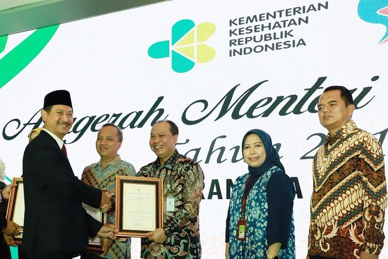 Klinik Kesehatan Milik KAI Raih Penghargaan dari Kemenkes