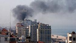 Baku Tembak Pasukan Israel-Palestina di Gaza, Suasana Mencekam