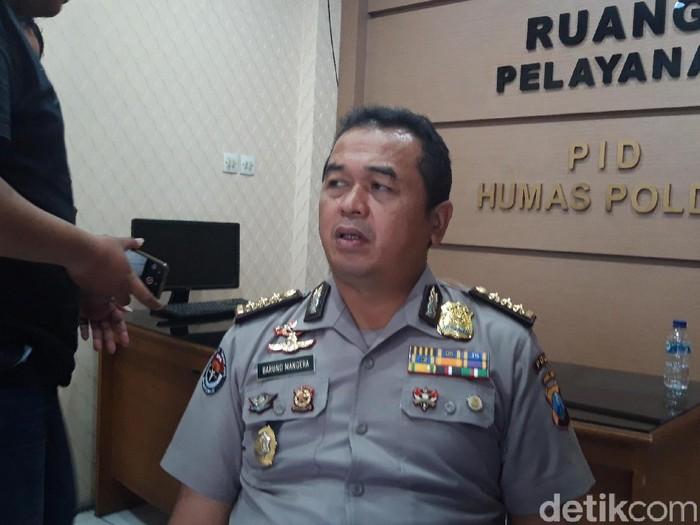 Kabid Humas Polda Jatim Kombes Frans Barung Mangera (Hilda Meilisa Rinanda/detikcom)