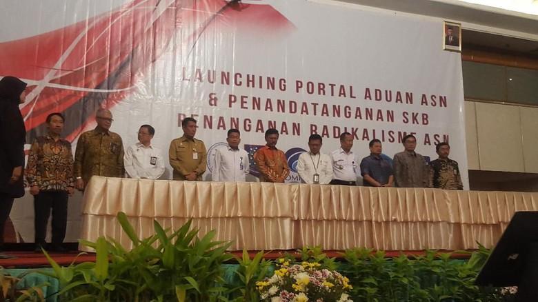 Tangkal Radikalisme, 11 Kementerian Kerjasama Luncurkan Portal Aduan ASN