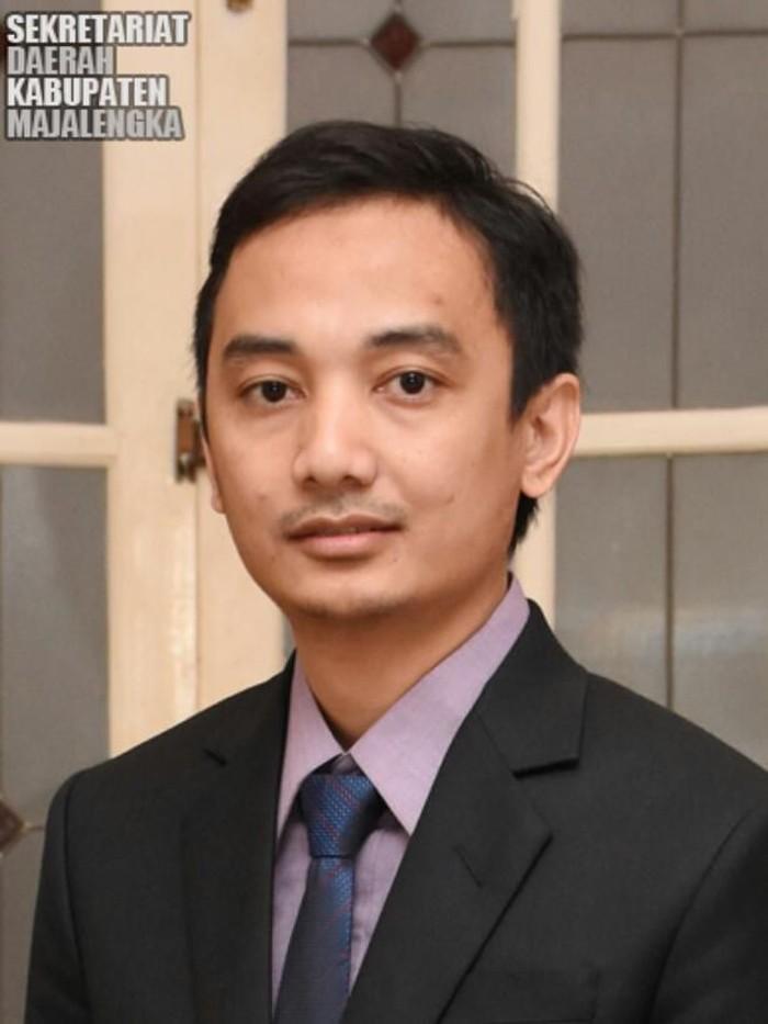 Irfan Nur Alam, anak Bupati Majalengka yang menembak kontraktor (Screenshot setda.majalengkakab.go.id)