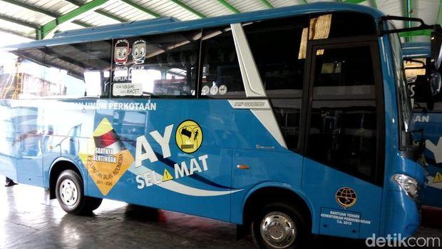 Bus pelajar Kota Kediri