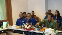 Pimpinan MPR Sambangi Kantor PAN, Bamsoet Disapa Caketum Golkar