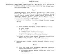 Tarif BBN-KB DKI Jakarta menjadi 12,5 persen.