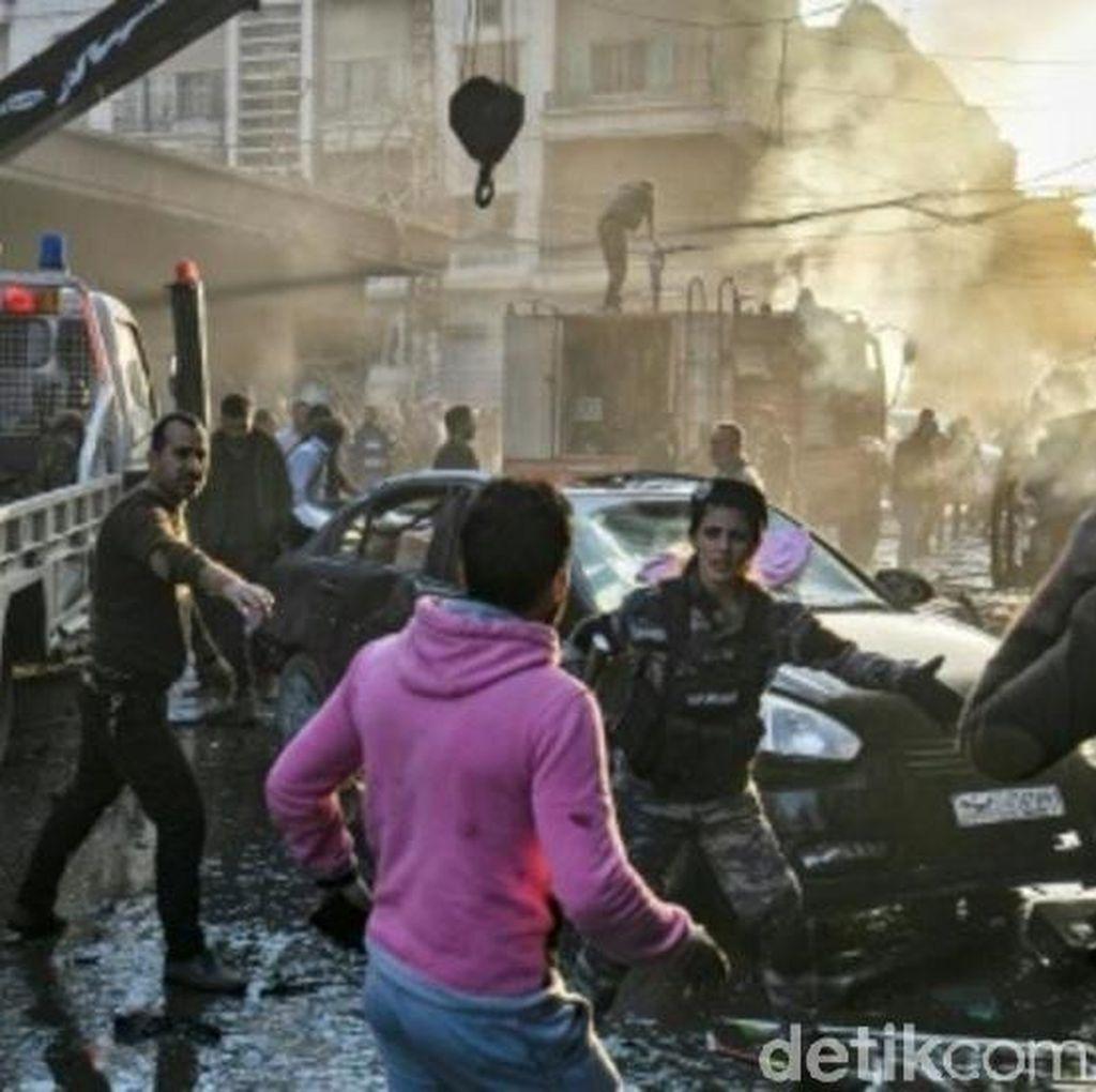 Bom Terjadi di Suriah, 6 Warga Sipil Tewas