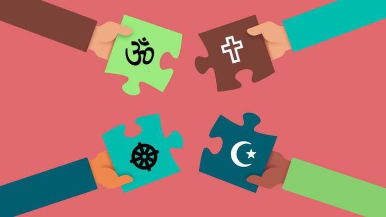 Ilustrasi Salam Semua Agama (Andhika Akbarayansyah)