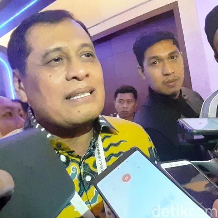 Ketua Korbid Pratama DPP Golkar Nurdin Halid.