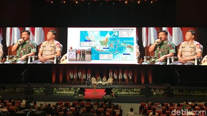 Panglima TNI Marsekal Hadi Tjahjanto (Rolando/detikcom)