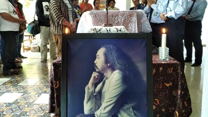 Seniman Djaduk Ferianto meninggal dunia karena serangan jantung (Usman Hadi/detikcom)