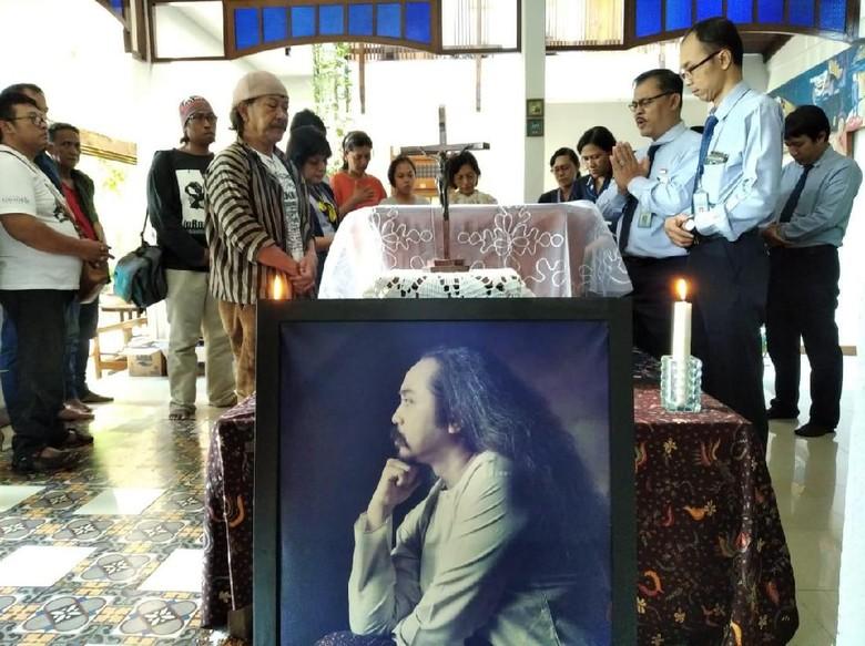 Foto: Djaduk Ferianto meninggal dunia (Usman Hadi/detikcom)