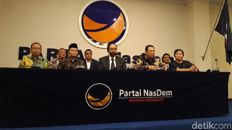 Ketua MPR: Surya Paloh Sampaikan soal Amandemen UUD 1945 Menyeluruh