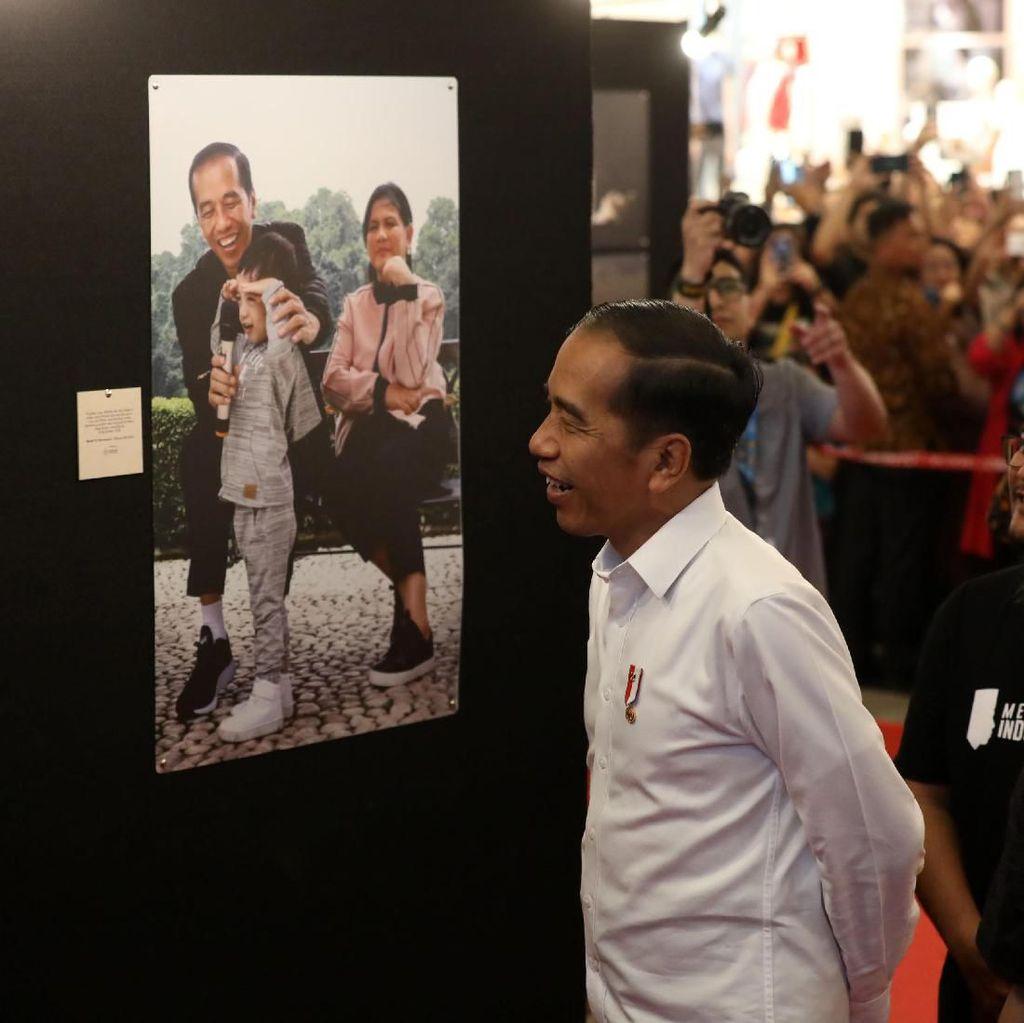Jokowi Hadiri Pameran Foto Membangun Indonesia