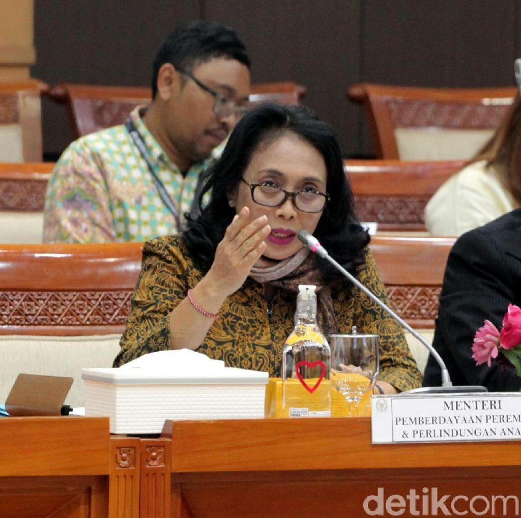Raker di DPR, Menteri PPPA Paparkan Kesepakatan Terakhir soal RUU P-KS