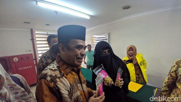 Istri Mantan Napi Teroris Bertemu Menteri Agama Fachrul Razi