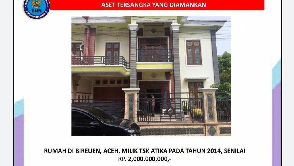 BNN Sita Aset Senilai Rp 31 M dari Istri Mafia Sabu Murtala