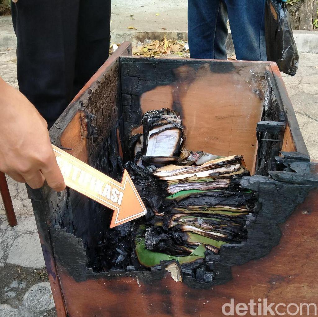 Kebakaran Misterius di Kantor Korpri Klaten, Polisi Turun Tangan