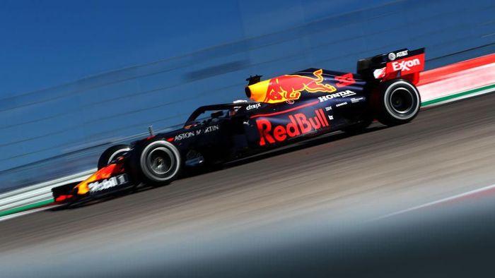 Red Bull Racing baru semusim memakai mesin Honda. Foto: Dan Istitene/Getty Images
