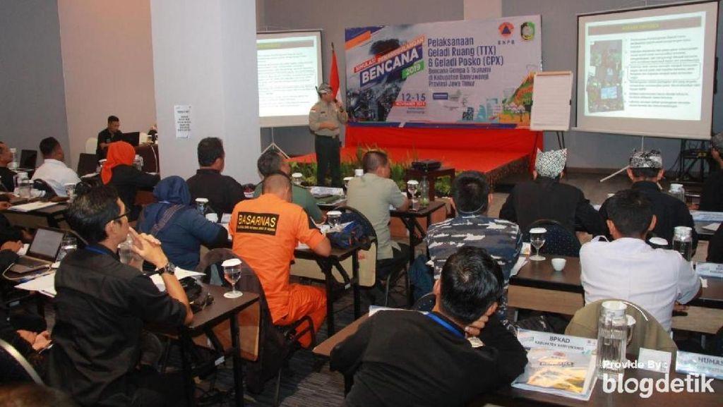 BNPB Gelar Simulasi Penanggulangan Bencana di Banyuwangi