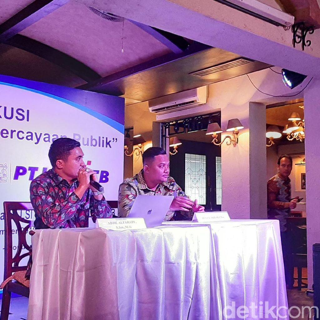 LSI Denny JA: Kepercayaan Publik Turun Akibat Kampanye Negatif-Hoaks