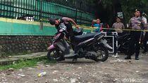 Ini Motor Pelaku Bom Bunuh Diri di Polrestabes Medan
