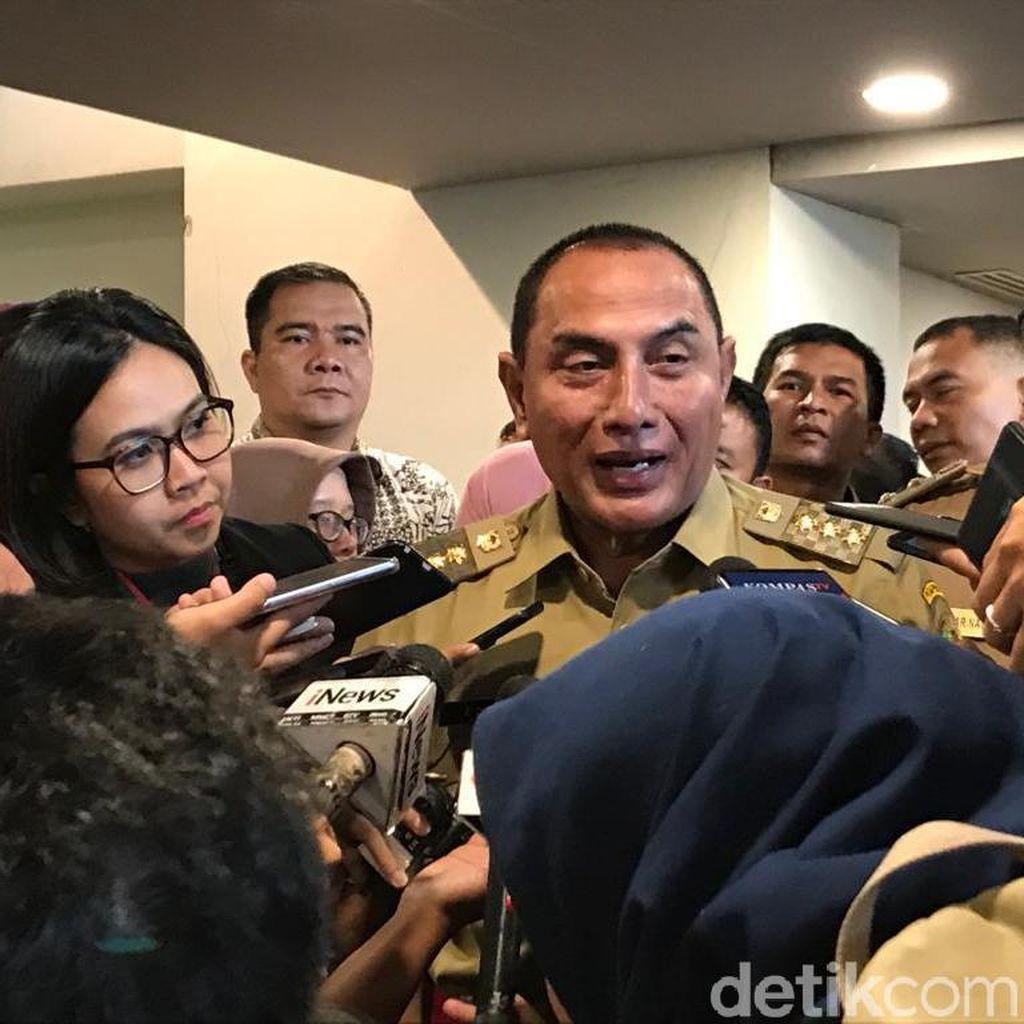Gubernur Sumut Tanggung Biaya Korban Bom Bunuh Diri Polrestabes Medan