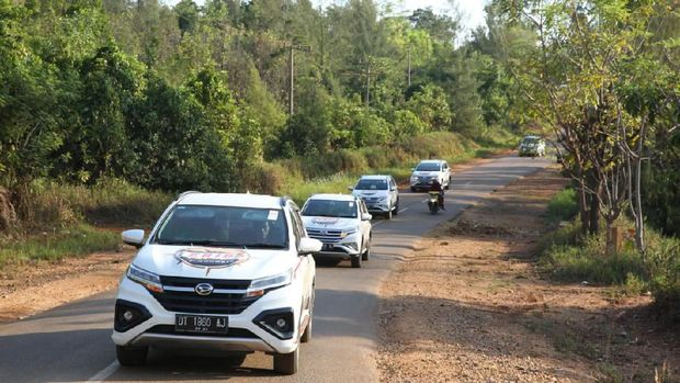Perjalanan Daihatsu Terios 7 Wonder menuju Kolaka, Sulawesi Tenggara