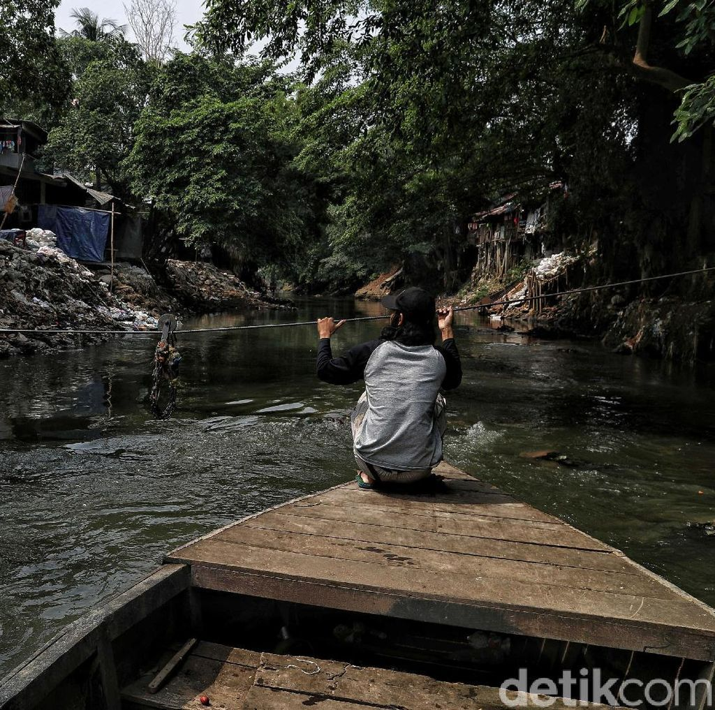 Normalisasi Sungai Ciliwung Terkendala Pembebasan Lahan