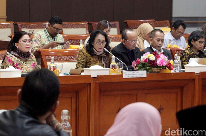 Raker Komisi VIII dengan Menteri PPPA (Lamhot Aritonang/detikcom)