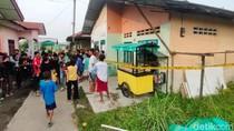 Rumah Kontrakan Pelaku Bom Bunuh Diri di Medan Jadi Tontonan