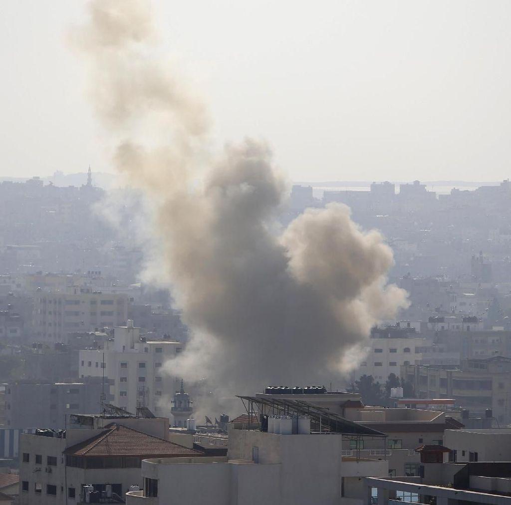 Israel Bombardir Jalur Gaza, 10 Orang Tewas