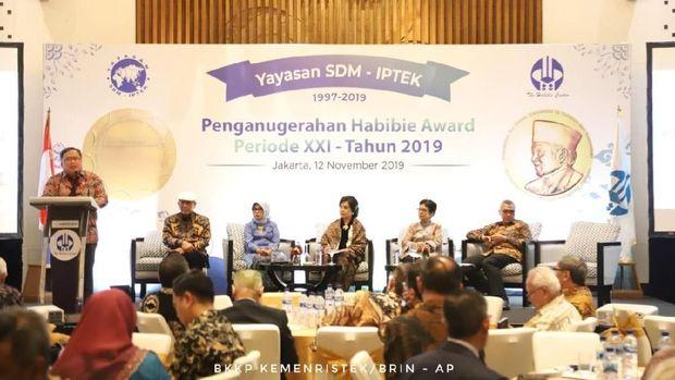 Menristek Ingin Habibie Award Bisa Setara Nobel