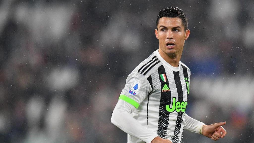 Absen Lawan Atalanta, Ronaldo Fokus Pulihkan Kondisi