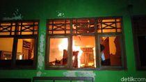 Kantor Kecamatan Tarub Kabupaten Tegal Terbakar