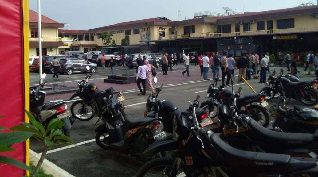 Usai Bom Bunuh Diri di Polrestabes Medan, Pelayanan SKCK Tetap Berjalan