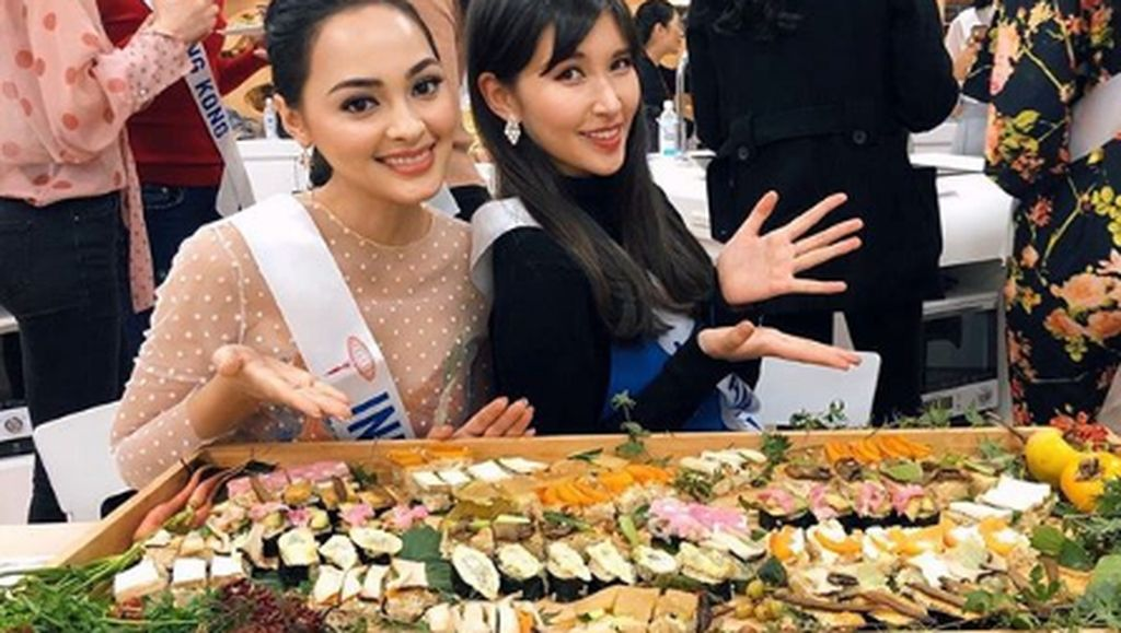 Jolene Marie, Miss International 2019 dari Indonesia yang Hobi Kulineran Mewah