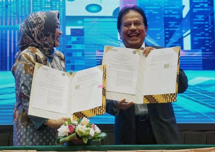 Kerja sama tersebut ditandai dengan penandatanganan Nota Kesepahaman (MoU) dan Perjanjian Kerja Sama (PKS) terkait Pendaftaran Tanah, Penanganan Permasalahan Aset & Agunan di Jakarta, Selasa (12/11/2019).
