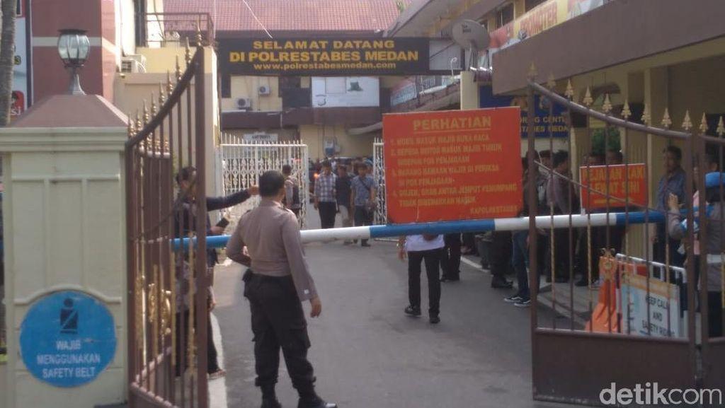 Potret Kondisi Terkini Polrestabes Medan Usai Ledakan