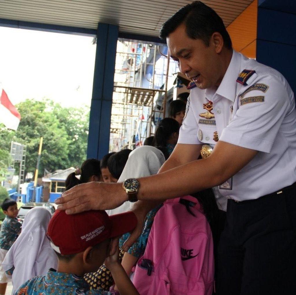 Luncurkan Program Sayang Anak, OP Tanjung Priok Kedatangan Siswa SD