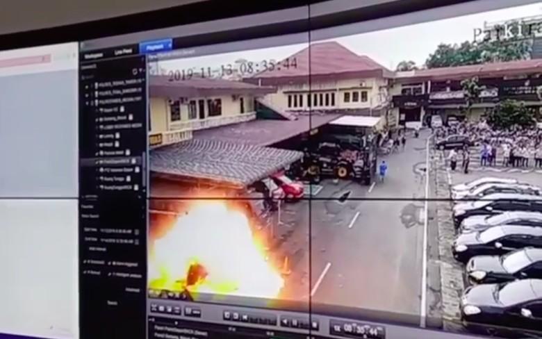 Polisi: Pelaku Bom Bunuh Diri di Polrestabes Medan Lone Wolf