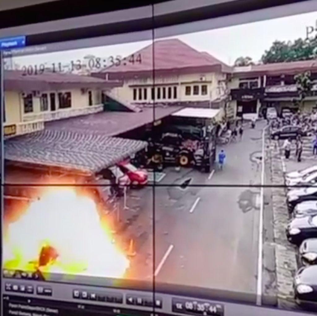 Penjelasan Polisi soal Lolosnya Bomber Medan dari Pemeriksaan
