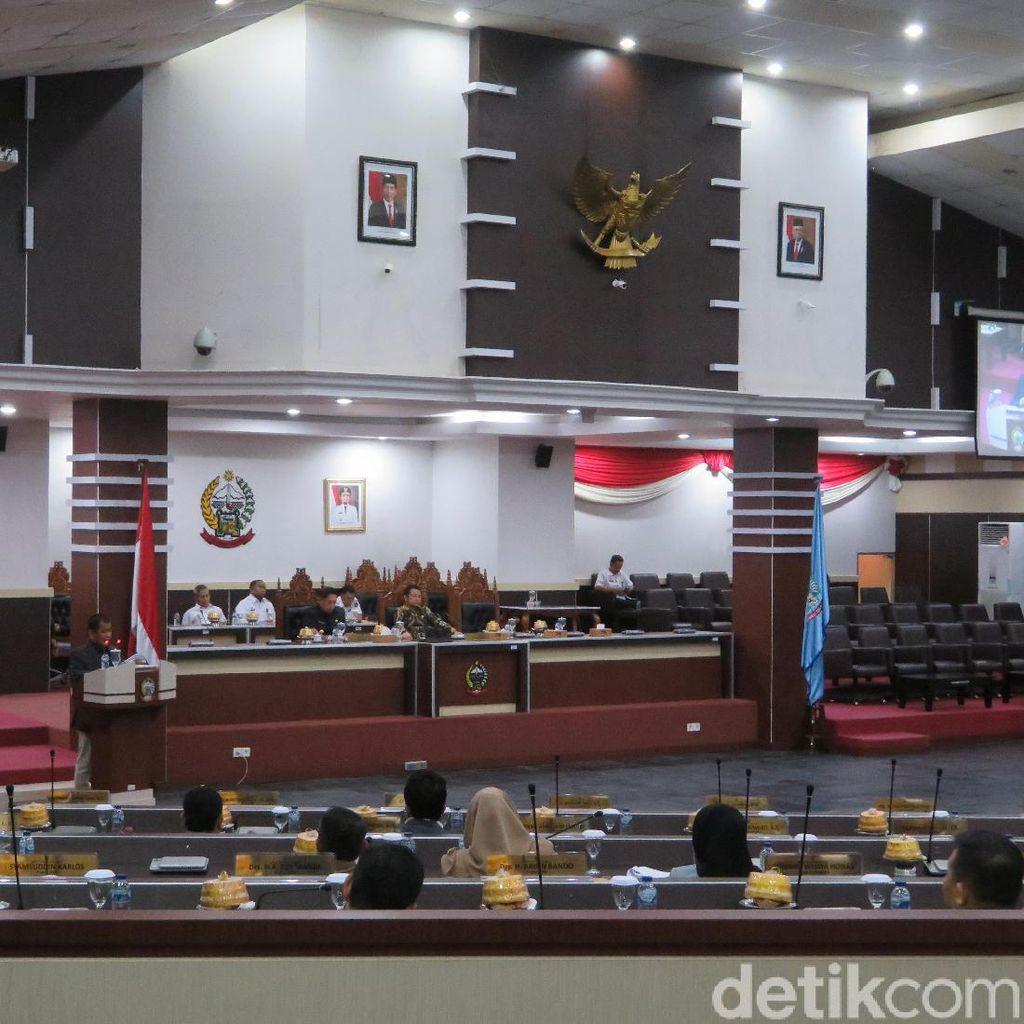 Paripurna DPRD Sulsel, Pimpinan Dewan Absen Dipertanyakan