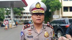 Polisi Nyatakan Pemotor yang Ditendang Paspampres Terindikasi Kebut-kebutan