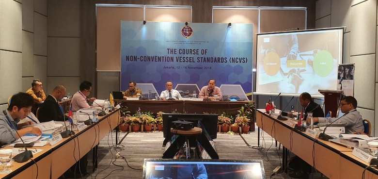 Kemenhub Laut Berbagi Pengalaman soal Standar Kapal Nonkonvensi