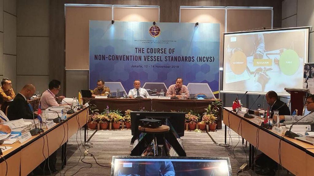 Kemenhub Laut Berbagi Pengalaman soal Standar Kapal Non-Konvensi