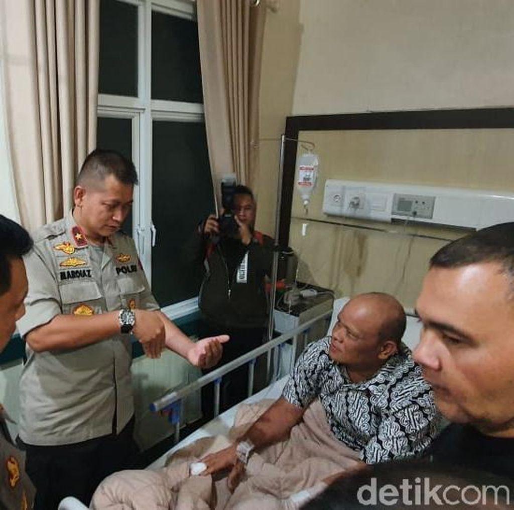 Wakapolda Sumut Besuk Polisi Korban Luka Bom Bunuh Diri Medan