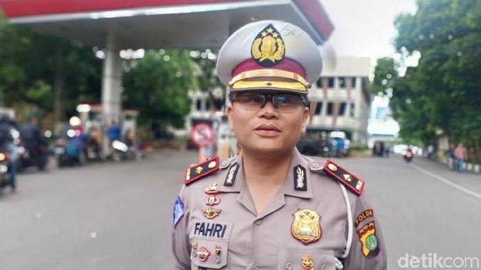 Kasubdit Gakkum Ditlantas Polda Metro Jaya Kompol Fahri Siregar (Samsdhuha Wildansyah/detikcom)