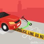 Kecelakaan di Senayan, Bahaya Skuter Listrik Sama dengan Motor