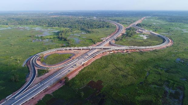 Jalan Tol Trans Sumatera, Tol Bakauheni - Tol Terbanggi Besar (Dok. Hutama Karya)