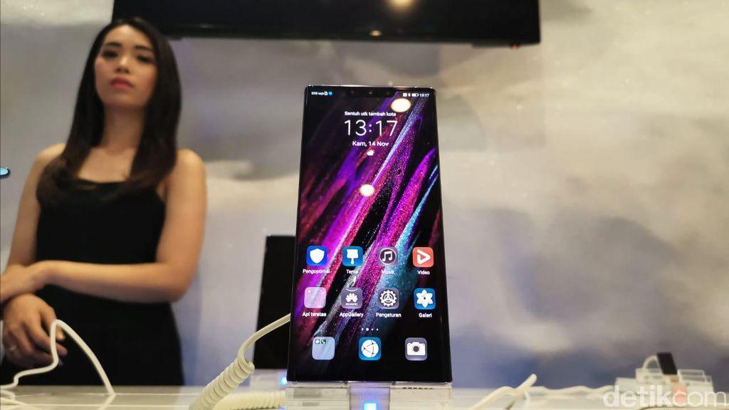 Huawei akhirnya meresmikan Mate 30 Pro di Indonesia. Foto: Anggoro Suryo Jati